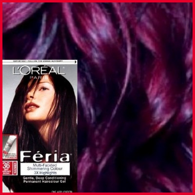Lovely Chocolate Cherry Hair Color